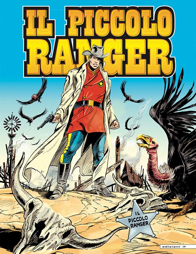 il piccolo ranger edizioni IF copertina numero 40