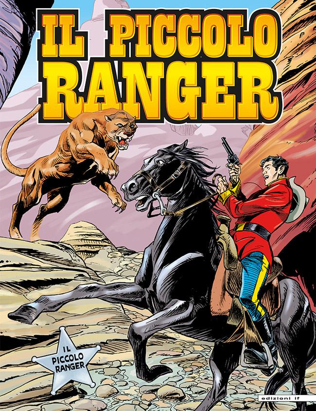 il piccolo ranger edizioni IF copertina numero 42