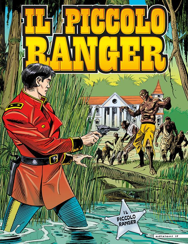 il piccolo ranger edizioni IF copertina numero 43