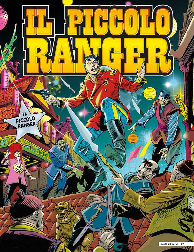 il piccolo ranger edizioni IF copertina numero 45