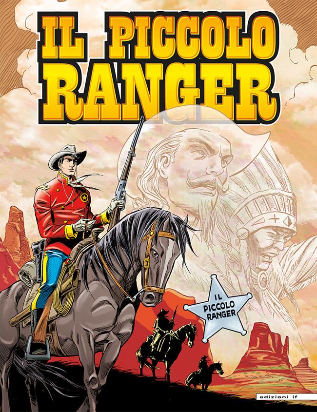 il piccolo ranger edizioni IF copertina numero 48
