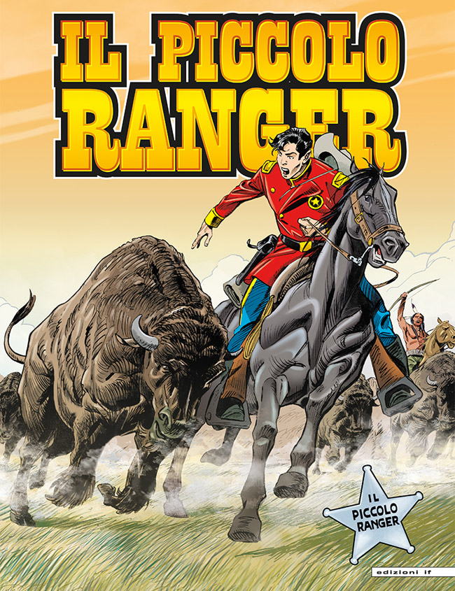 il piccolo ranger edizioni IF copertina numero 50