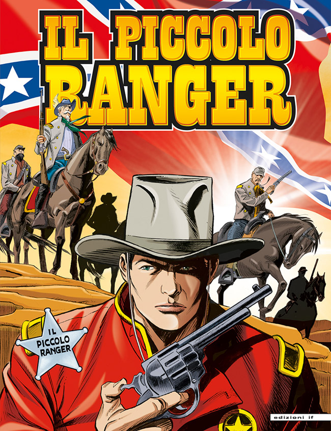 il piccolo ranger edizioni IF copertina numero 57