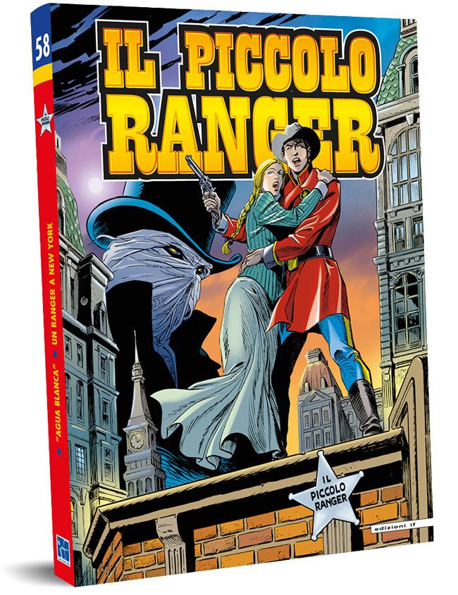 il piccolo ranger edizioni IF copertina numero 58