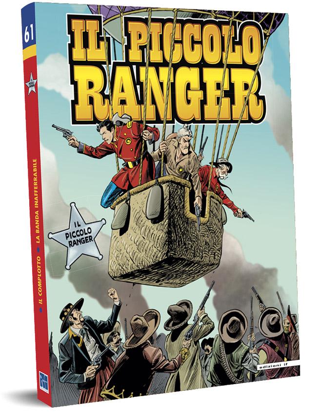 il piccolo ranger edizioni IF copertina numero 61
