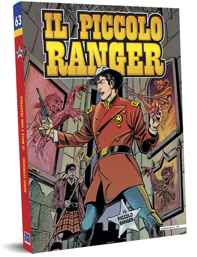 il piccolo ranger edizioni IF copertina numero 63