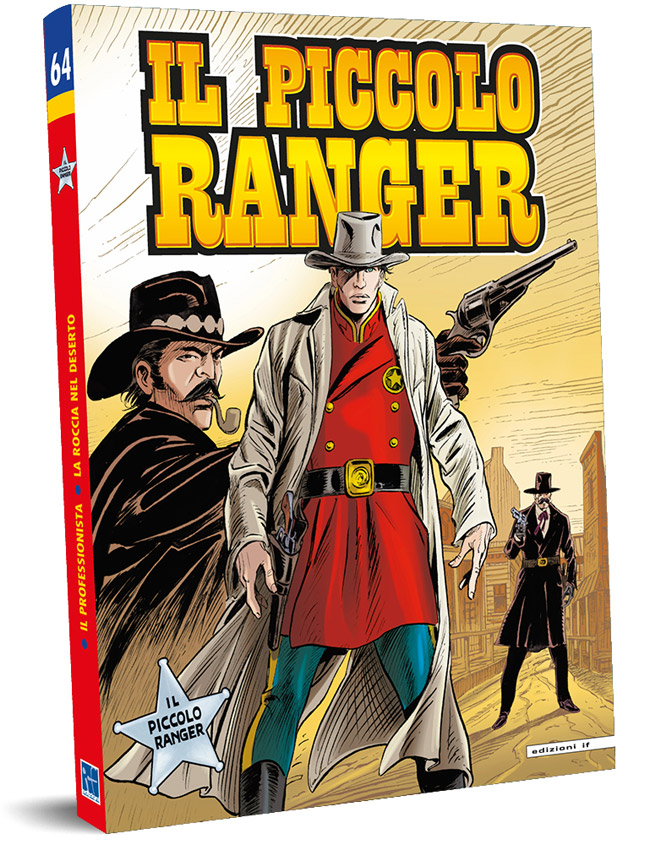 il piccolo ranger edizioni IF copertina numero 64