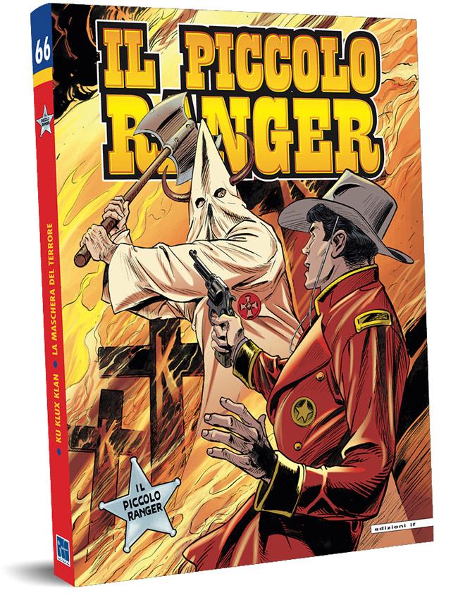 il piccolo ranger edizioni IF copertina numero 66
