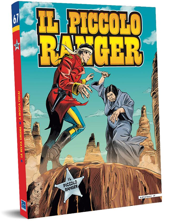 il piccolo ranger edizioni IF copertina numero 67