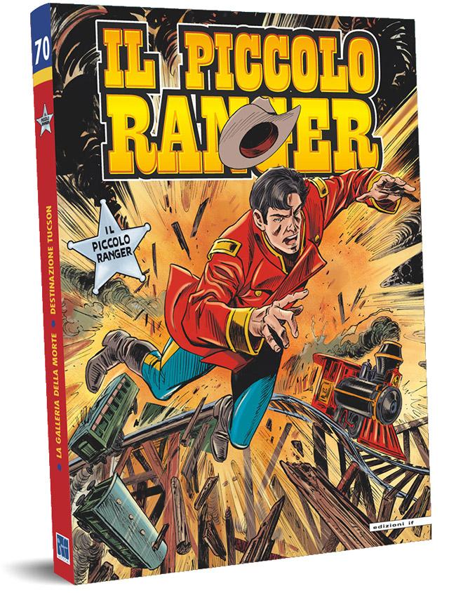 il piccolo ranger edizioni IF copertina numero 70