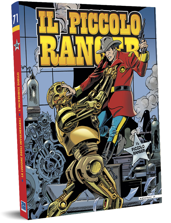 il piccolo ranger edizioni IF copertina numero 71