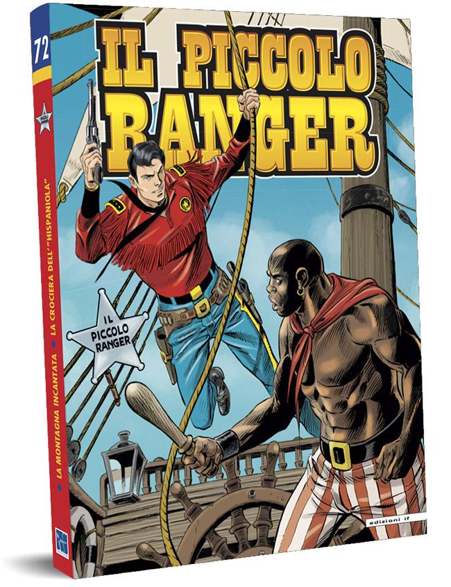 il piccolo ranger edizioni IF copertina numero 72