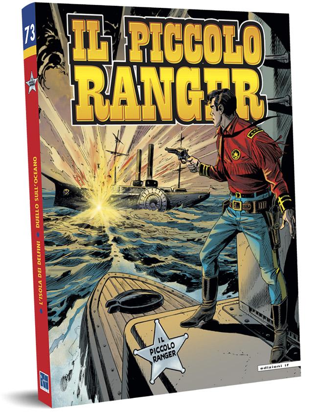 il piccolo ranger edizioni IF copertina numero 73