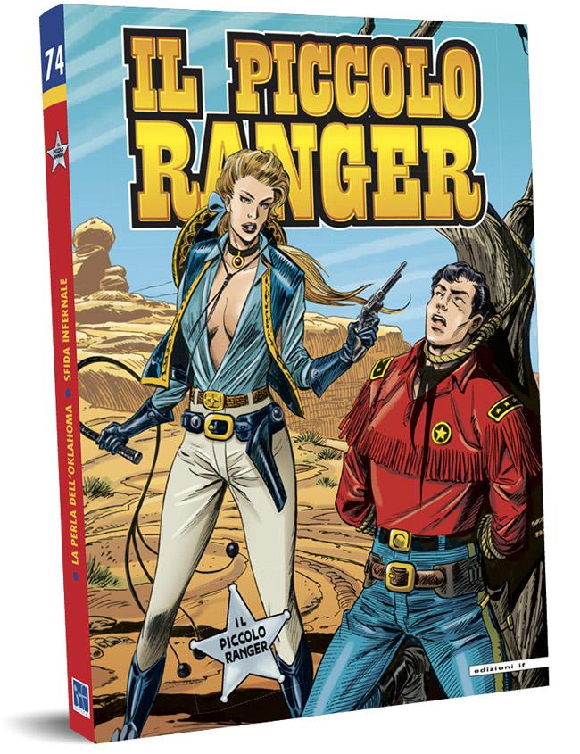 il piccolo ranger edizioni IF copertina numero 74