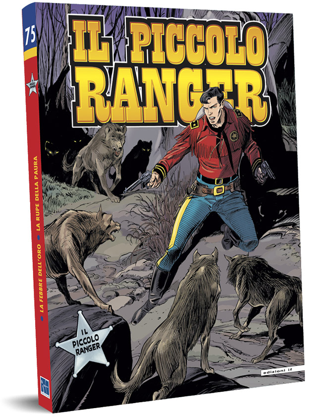 il piccolo ranger edizioni IF copertina numero 75