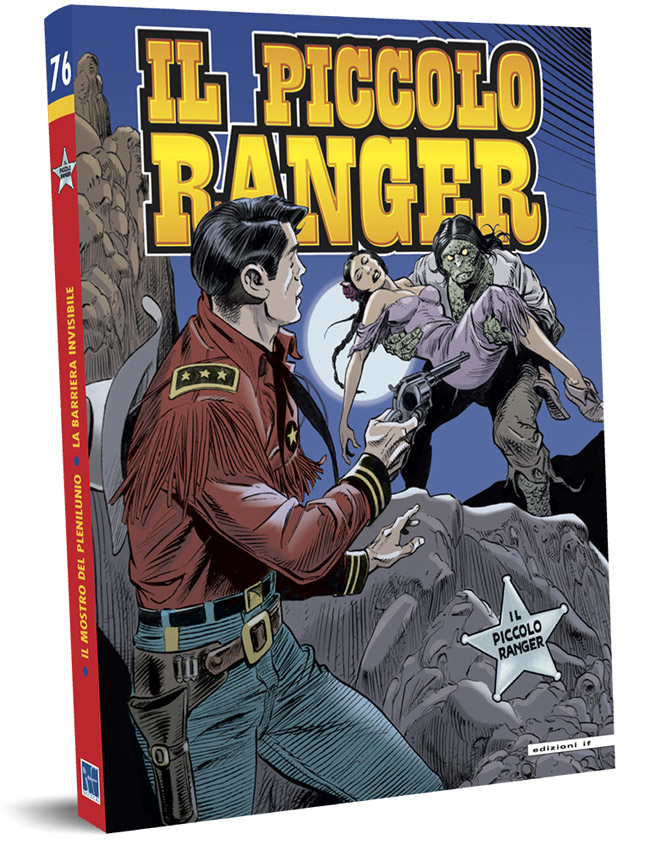 il piccolo ranger edizioni IF copertina numero 76