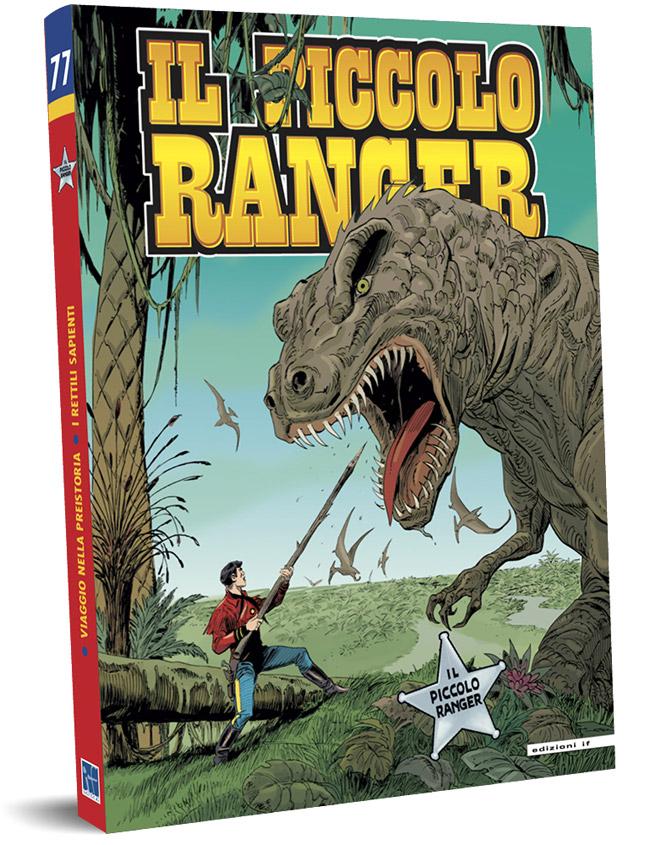 il piccolo ranger edizioni IF copertina numero 77