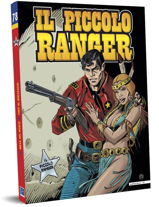 il piccolo ranger edizioni IF copertina numero 78