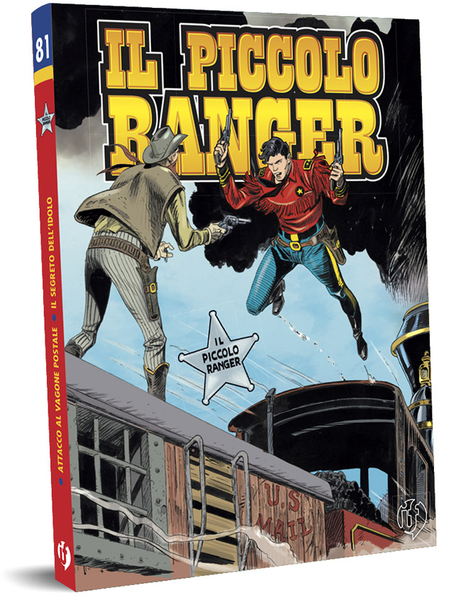 il piccolo ranger edizioni IF copertina numero 81