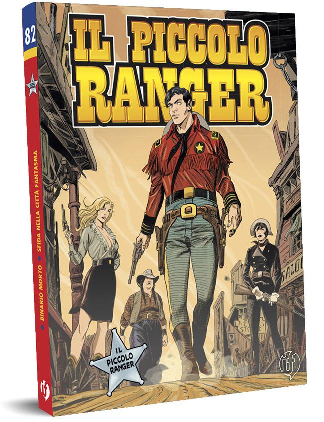 il piccolo ranger edizioni IF copertina numero 82