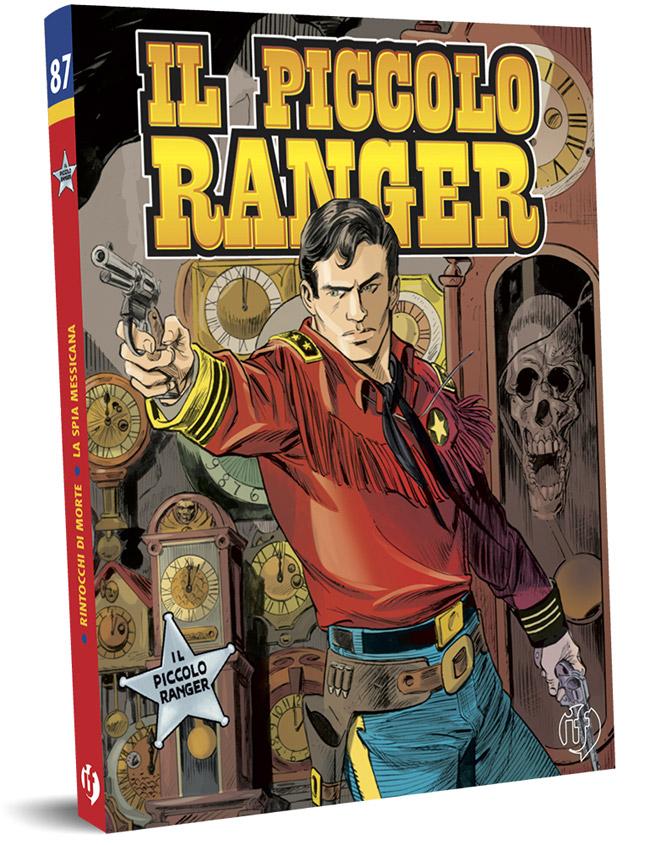il piccolo ranger edizioni IF copertina numero 87