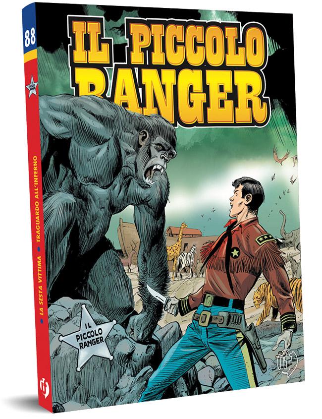 il piccolo ranger edizioni IF copertina numero 88