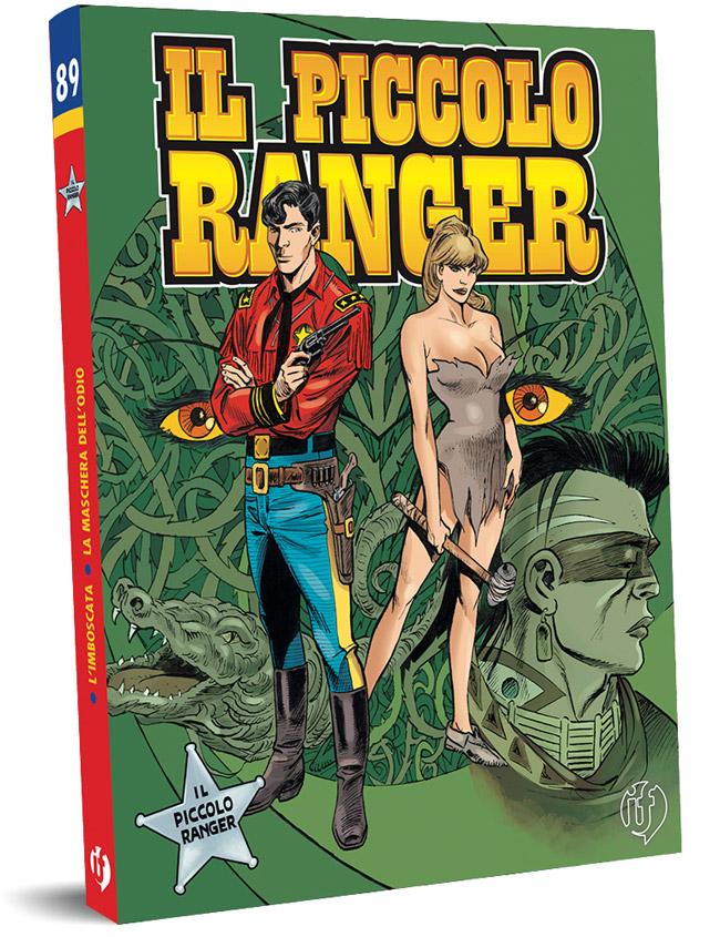 il piccolo ranger edizioni IF copertina numero 89