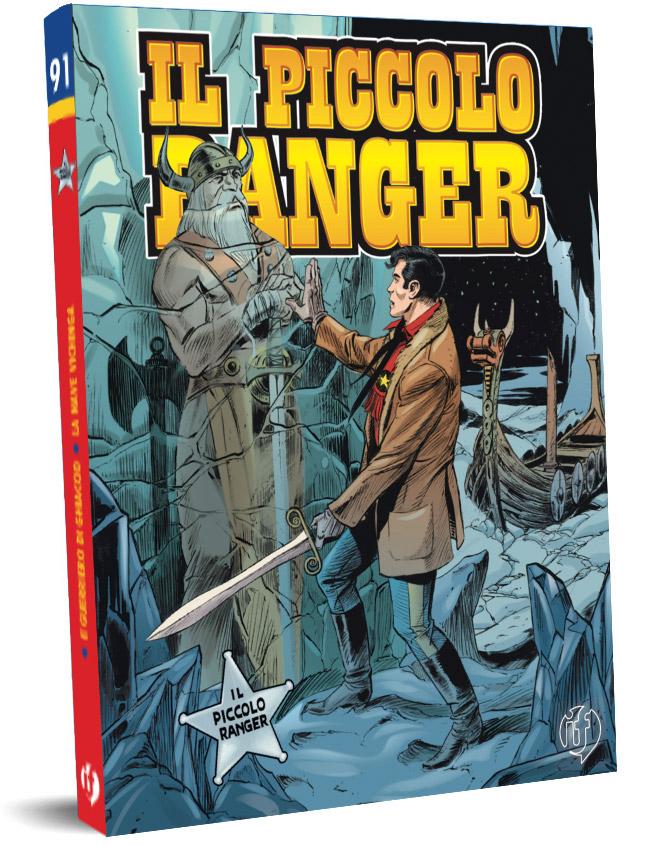 il piccolo ranger edizioni IF copertina numero 91