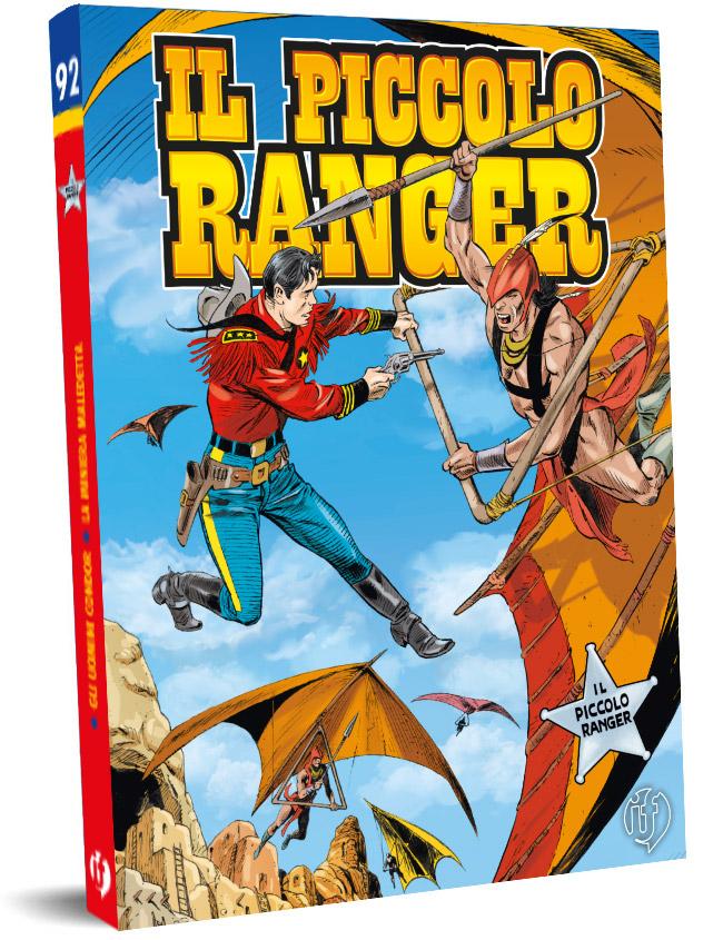 il piccolo ranger edizioni IF copertina numero 92