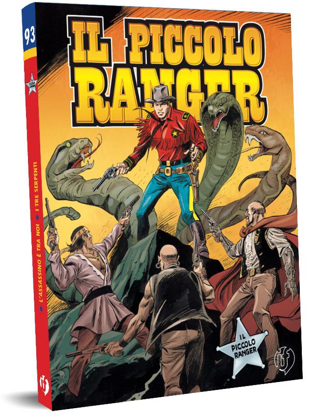 il piccolo ranger edizioni IF copertina numero 93