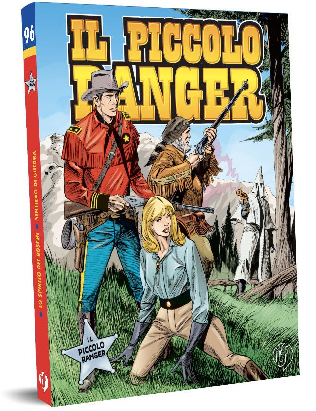 il piccolo ranger edizioni IF copertina numero 96