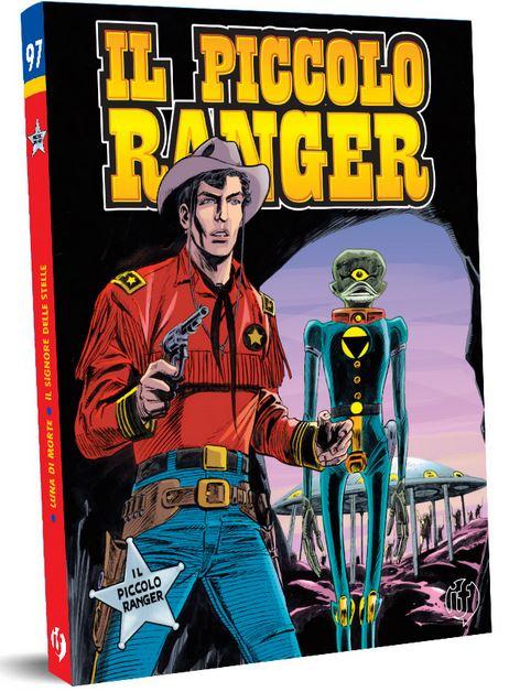 il piccolo ranger edizioni IF copertina numero 97
