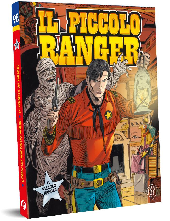 il piccolo ranger edizioni IF copertina numero 98