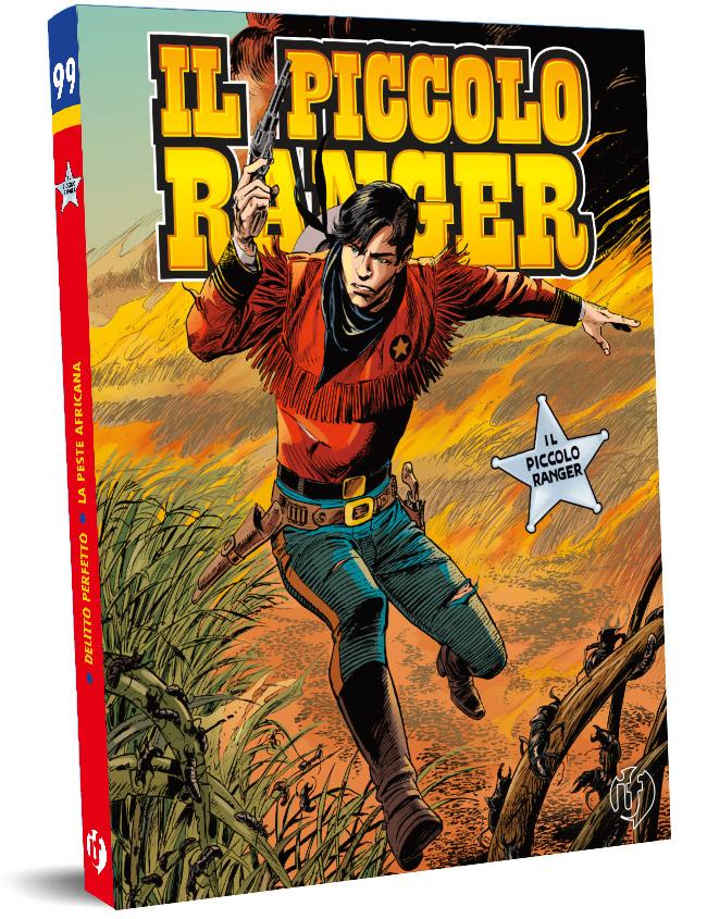 il piccolo ranger edizioni IF copertina numero 99