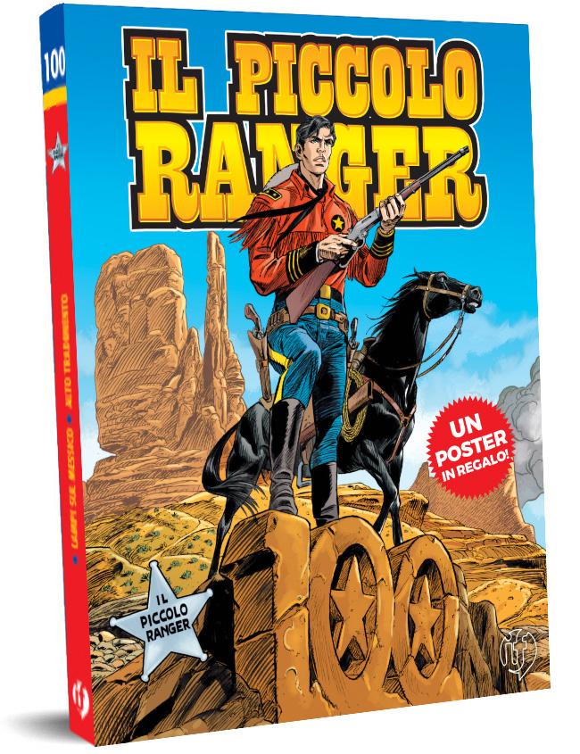 il piccolo ranger edizioni IF copertina numero 100