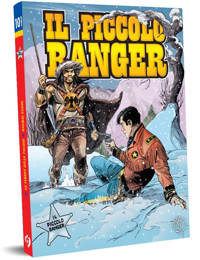 il piccolo ranger edizioni IF copertina numero 101