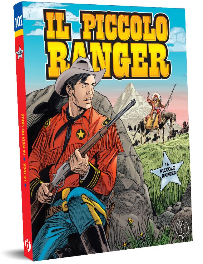 il piccolo ranger edizioni IF copertina numero 102