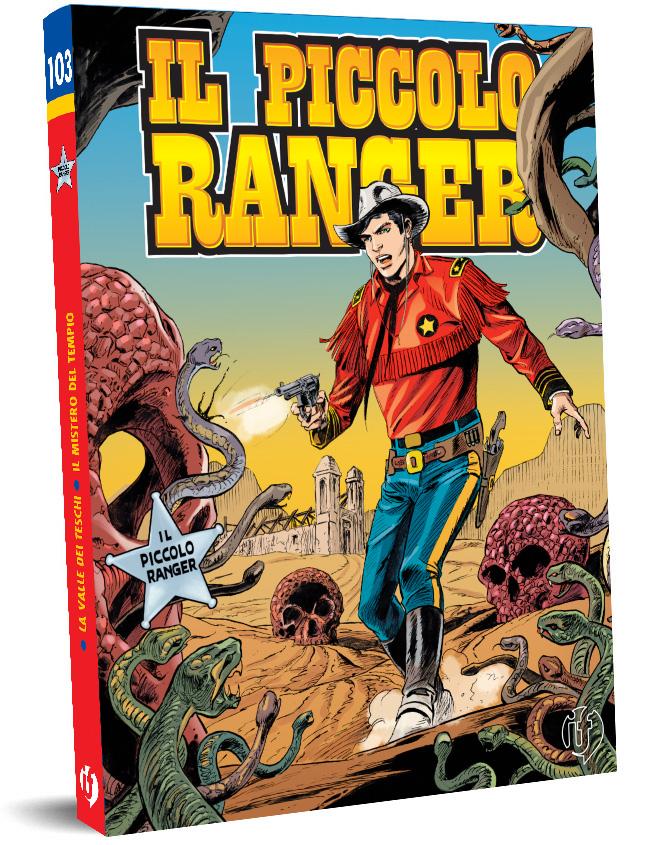 il piccolo ranger edizioni IF copertina numero 103