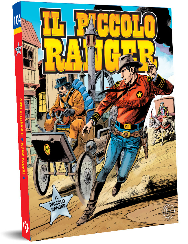 il piccolo ranger edizioni IF copertina numero 104