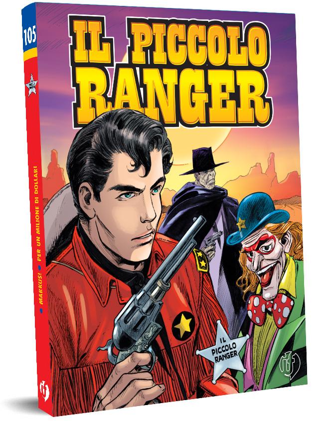 il piccolo ranger edizioni IF copertina numero 105