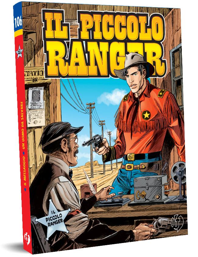 il piccolo ranger edizioni IF copertina numero 106
