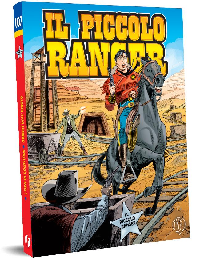 il piccolo ranger edizioni IF copertina numero 107