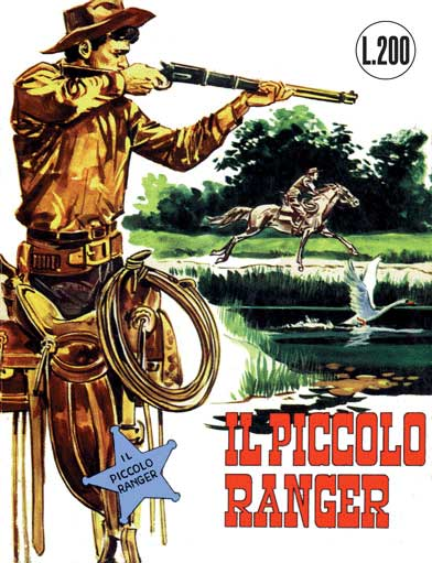 il piccolo ranger collana cowboy copertina numero 1