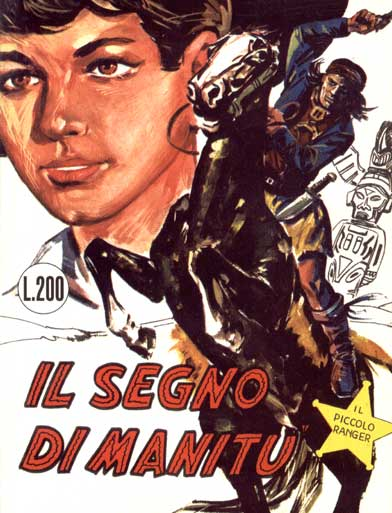 il piccolo ranger collana cowboy copertina numero 3