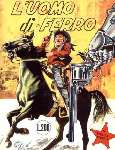 il piccolo ranger collana cowboy copertina numero 4