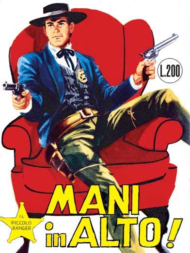 il piccolo ranger collana cowboy copertina numero 6