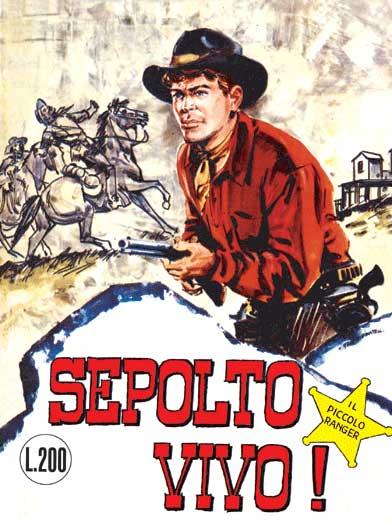 il piccolo ranger collana cowboy copertina numero 7