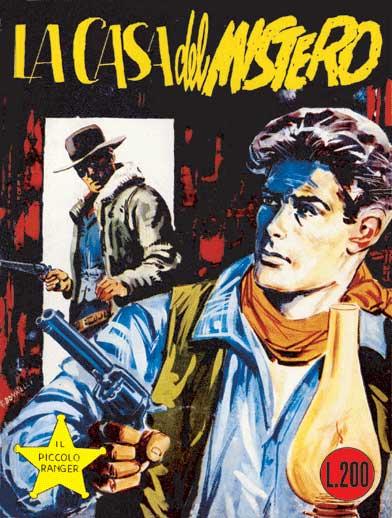 il piccolo ranger collana cowboy copertina numero 8