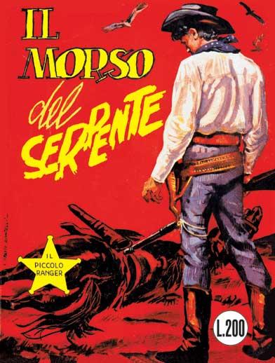 il piccolo ranger collana cowboy copertina numero 9