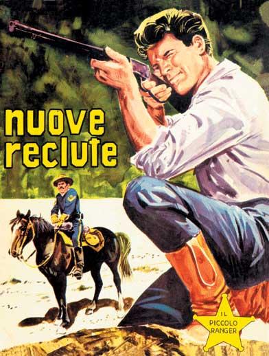 il piccolo ranger collana cowboy copertina numero 10